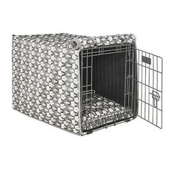 Bowsers Pet VENUS Micro Jacquard Luxury Dog Crate Cover  —