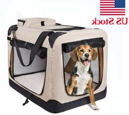 Pets Dog Soft Crate Kennel for Pet Indoor Home & Outdoor Use