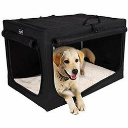 Petsfit Portable Soft Large Dog Crate Travle For Medium To S