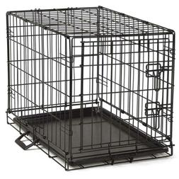 ProSelect Easy Dog Crates for Dogs and Pets - Black X-Small,