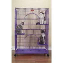 "ProSelect Foldable Cat Cages 48"" High-Black"