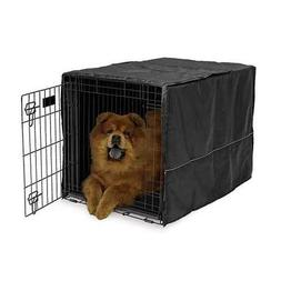 """Quiet Time Crate Cover Black Polyester 36"""" x 23.5"""" x 24"""""""