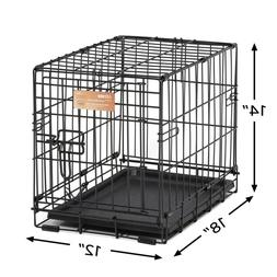 New Single-Door Pet Crate Small Dog Puppy Cage for Pets up 6