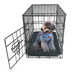 "Small 20"" Pet Kennel Cat Dog Folding Steel Crate Playpen Wir"