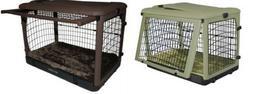 "Pet Gear Steel Dog Crates ""The Other Door"" w / Bolster Pad &"