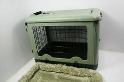 Pet Gear The Other Door 4 Door Steel Crate w Plush Bed Trave
