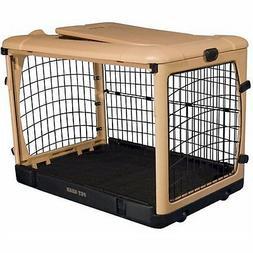 "Pet Gear The Other Door Tan Steel Dog  Crates in 27"",36"", an"