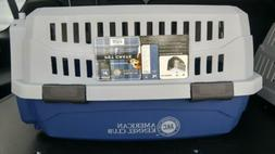 American Kennel Club - TRAVEL PET CRATE - Up-to-10 LBS Blue