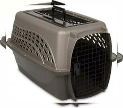 "Petmate Two Door Top Load Dog Kennel - 24"", Metallic Pearl T"