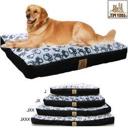 Waterproof Jumbo XL Pet Bed for Large Dog Orthopedic Mattres