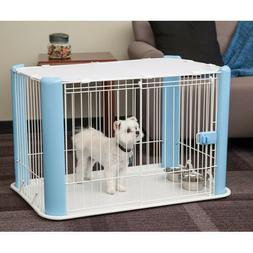 Wire Pet Playpen For Small Medium Dog Kennel Crates Mesh Roo