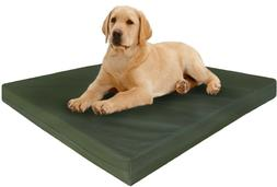 Dogbed4less XL Extra Large Orthopedic Canvas Memory Foam Pet